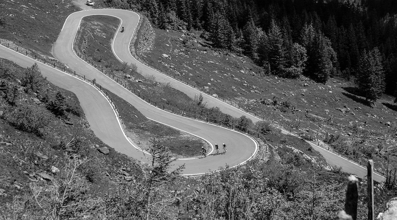 Vigorelli Radsportler auf Tour